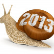 Stock Photo: Snail 2013
