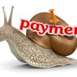 Stock Photo: Payment Snail