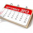 September 2013 — Stock Photo