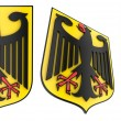 Germany.Coat of arms — Stock Photo