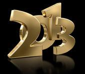 Gold 2013 — Stock Photo
