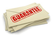 Guarantee letters — Stock Photo