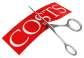 Reducing costs — Stock Photo