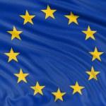 3D flag of the European union — Stock Photo #32979851