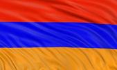 Armenian flag — Stock Photo