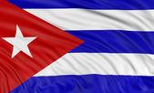 Cuban flag — Stock Photo