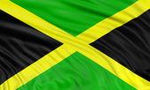 Jamaican flag — Stock Photo
