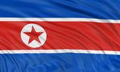 North Korean flag — Stock Photo
