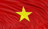 Vietnamese flag — Stock Photo