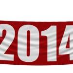 2014 Banner — Stock Photo