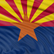 Arizona Flag — Stock Photo