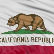 Stock Photo: California Flag