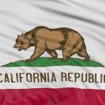 California Flag — Stock Photo