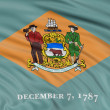 Delaware Flag — Stock Photo
