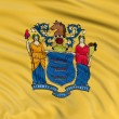 Stock Photo: New Jersey Flag