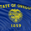Oregon Flag — Stock Photo