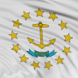Rhode Island Flag — Stock Photo