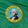 Washington flag — Stock Photo