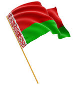 State flag of Belarus — Stock Photo