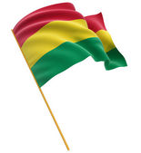 Flag of Bolivia — Stock Photo