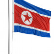 Flag of North Korea  — Foto de Stock