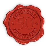 50 years anniversary — Stock Photo