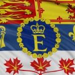 Royal Standard of Canada — Stock Photo #34469405