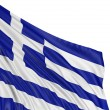 Flag of Greece  — Stock fotografie