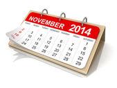 Calendar November — Stock Photo