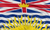 British Columbia flag — Stock Photo