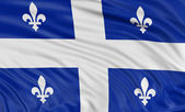 Quebec flag — Stock Photo