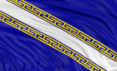 Flag of Champagne-Ardenne — Stock Photo
