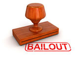 Bailout stamp — Stock Photo