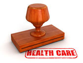 Health care stamp — Stock Photo
