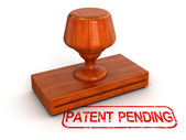 Patent pending stamp — Stock Photo