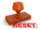 Reset stamp — Stock Photo