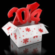 New year 2014 — Stock Photo #34860051