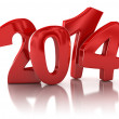 New Year 2014 — Stock Photo #34860133