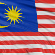 Malaysia flag — Stock Photo #34861665