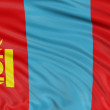 Stock Photo: Flag of Mongolia