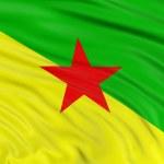 Постер, плакат: Flag of French Guiana
