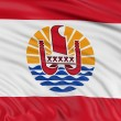 Stock Photo: Flag of French Polynesia