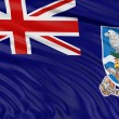 Falkland islands flag — Stock Photo #34864227