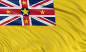 Flag of Niue — Stock Photo
