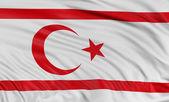 Flag of Turkish Republic of Northern Cyprus — Stock Photo