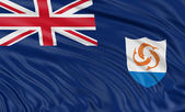Flag of Anguilla — Stock Photo