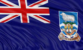 Falkland islands flag — Stock Photo
