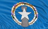 北马里亚纳群岛的旗子 — 图库照片
