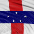 Flag of the Netherlands Antilles — Stock Photo