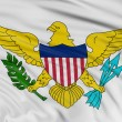 Stock Photo: Virgin Islands (US) Flag
